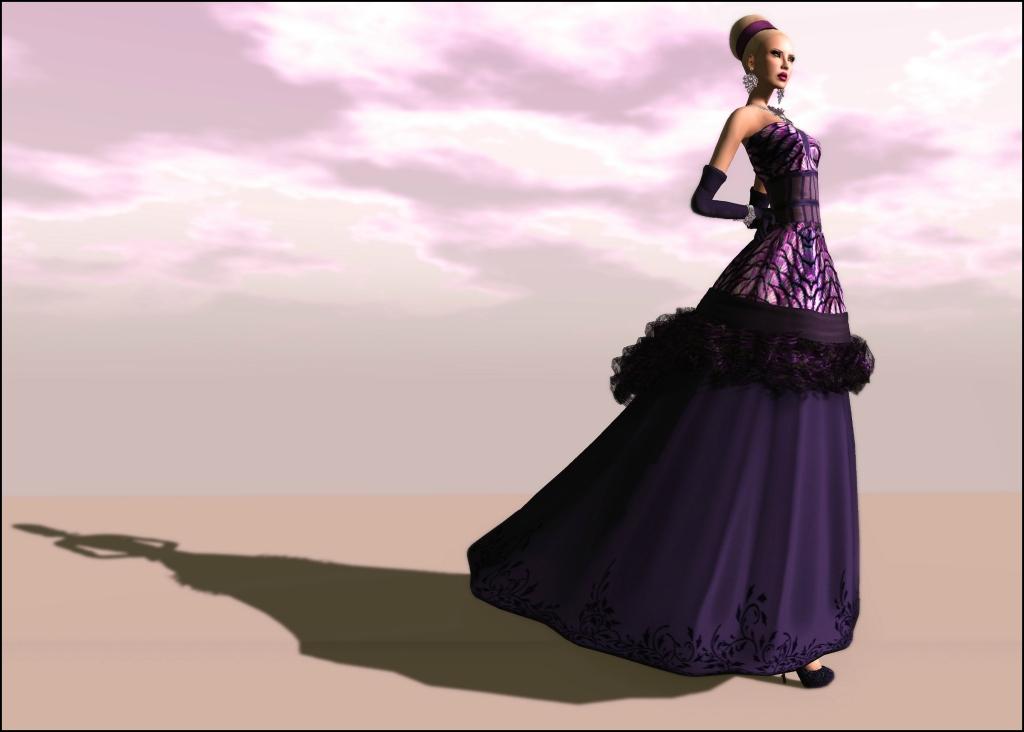 Purple .